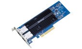 Synology 10 Gigabit dual port RJ-45 PCIe 3.0 4x adapter(incl LP and FH bracket)