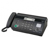 Panasonic KX-FT984RU-B (черный) {термобум., АОН, обрезка, пам.100 ном., автоподатчик 10 л., монитор}