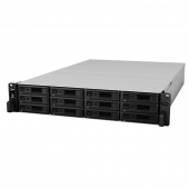 Synology Expansion Unit (Rack 2U) for RS3617xs,RS3617RPxs,RS3617xs+,RS2418RP+,RS1619xs+,RS2818RP+/ up to 12hot plug HDDs SATA(3,5' or 2,5')/2xRPS incl Cbl
